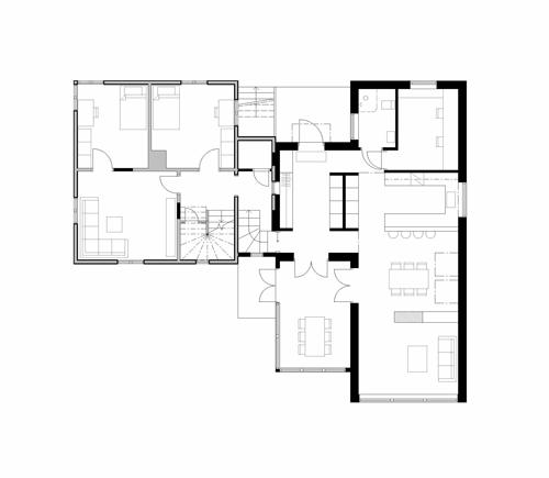 Tillbyggnad S, Plan 1