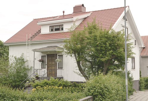 Generationsskiftet, Mariehamn - Villa W - Tomt