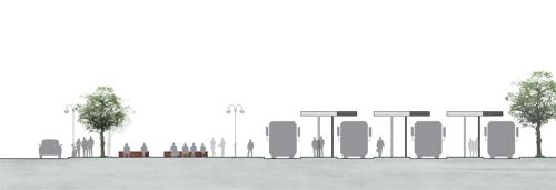 Upprustning i Mariehamn, Sektion - resecentrum